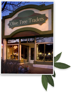Exterior of the Olive Tree Traders